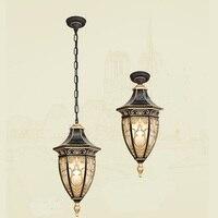 Открытый Люстра сад двор светильник потолочный светильник Открытый винограда огни LU8141802