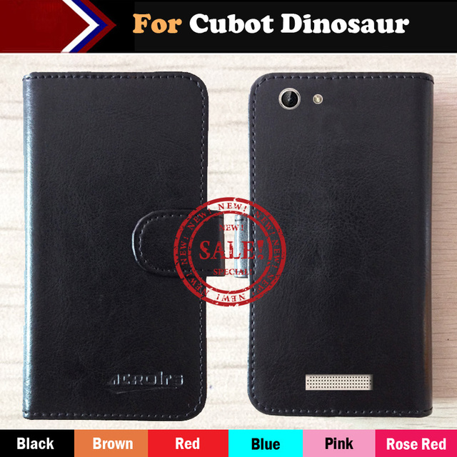 Dedicated Cubot Dinosaur Case 6 Colors Luxury Stand Protective Flip For Cubot Dinosaur Leather Phone Cover Style+Tracking
