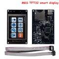 Peças de Impressora 3D MKS TFT32 visor do controlador inteligente 3.2 polegada tela de toque apoio APP/BT/edição para smoothieboard