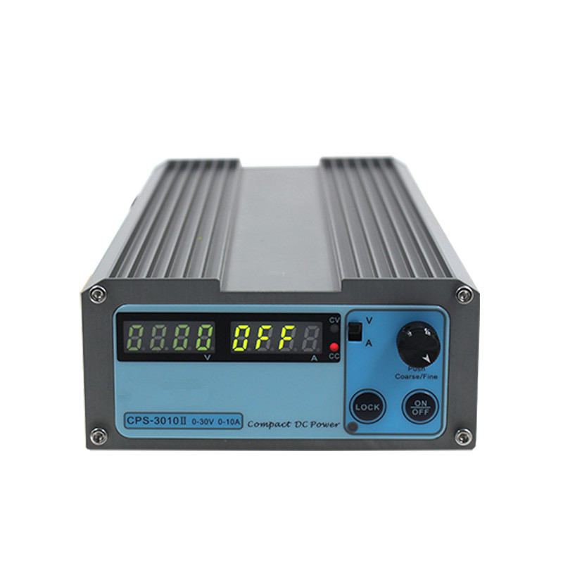 Original High Precision Digital Adjustable 30V 10A Mini Power Supply CPS-3010 Switchable 110V/220V DC Regulated Power Supply original lw mini adjustable digital dc power supply 0 30v 0 10a 110v 220v switching power supply 0 01v 0 01a 34 pcs dc jack