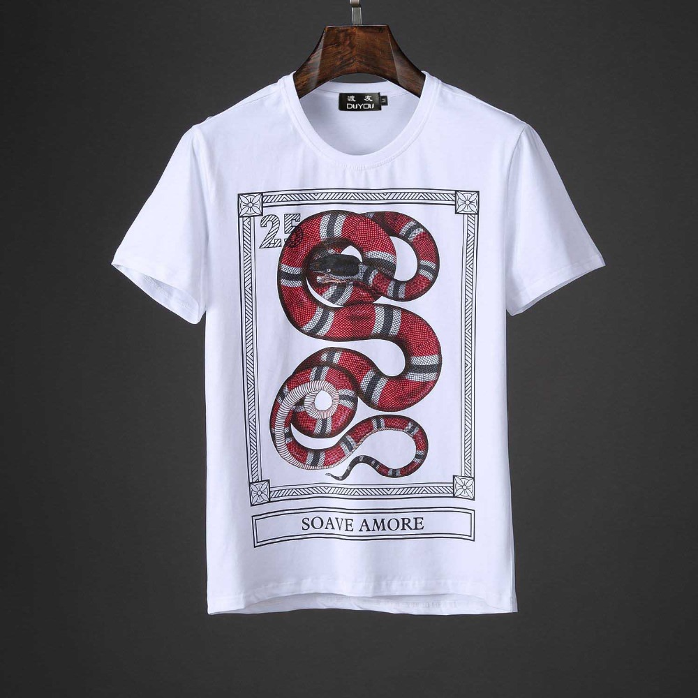 2019 New Men T Shirt Brand-clothing Fashion T Shirt Male Top Quality Stetch Short Sleeve Casual Men T-shirt DY10688