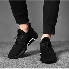 Men Mesh Casual Shoes Lace-Up New 2019 Men Sneakers Spring Autumn Breathable Fashion Comfortable Male Footwear Zapatillas Hombre цена