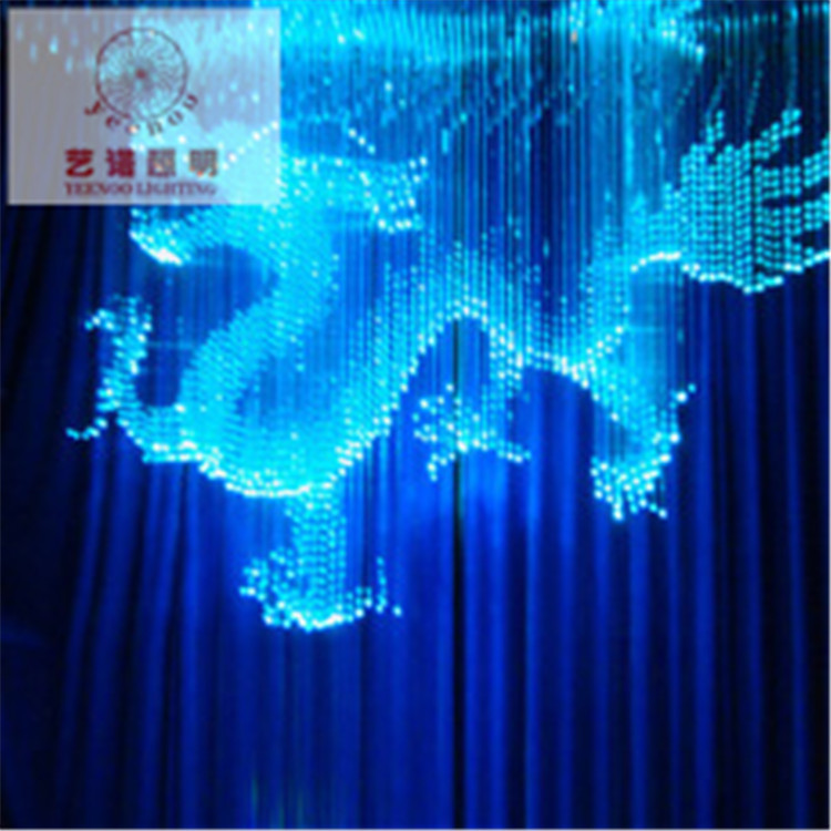 fasion fiber optic solar new fiber optic lighting crystal