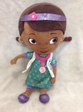 Nouveau Style d'origine Doc McStuffins peluche jouets, 32 cm = 12.6 polegada Dottie fille en peluche pour enfants et bébé cadeau