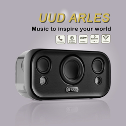 UUD Aries Wireless Bluetooth Speaker Hifi Super Bass Stereo Sound Box Bluetooth V4.2 + EDR With Phone Talk Function