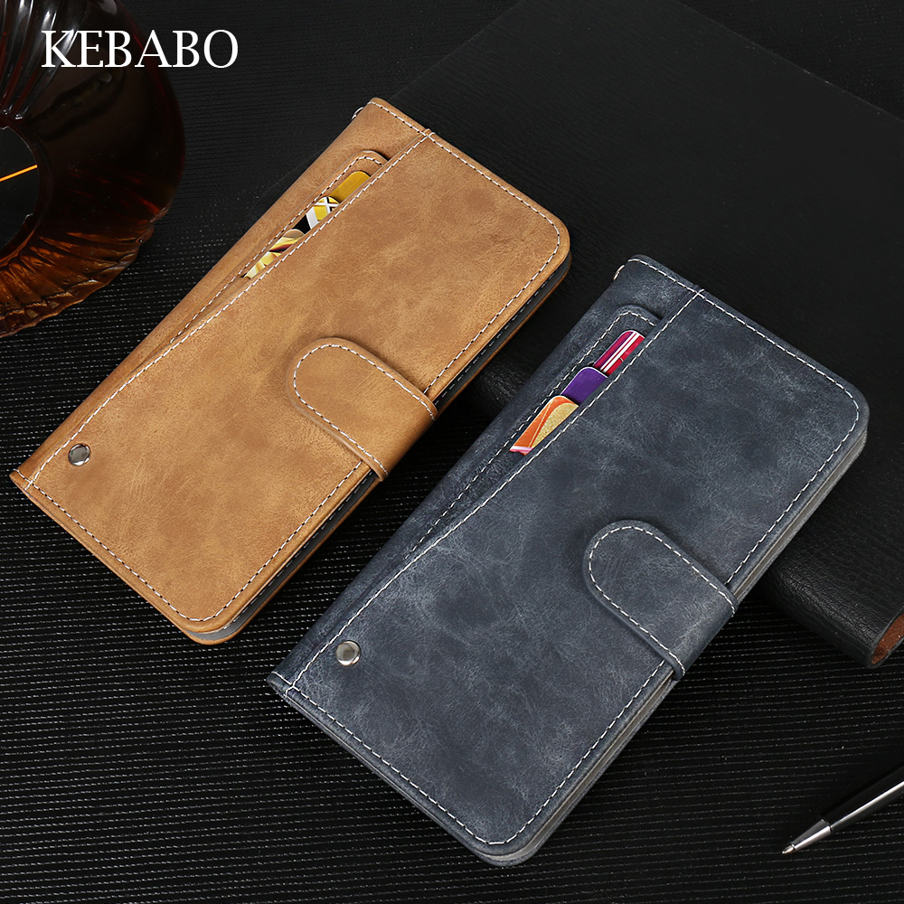 New Design! Elephone A2 Pro Case Luxury Wallet Vintage Flip Leather Case Phone Cover For Elephone A2 Pro With Card Slots