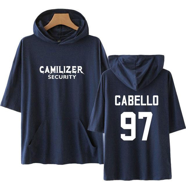 CAMILA CABELLO SHORT SLEEVE THEMED HOODIE (20 VARIAN)
