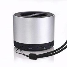 Мое видение bluetooth вибрации Динамик N9S Красивая Колонка с TF слот fm Радио приемник НЧ-динамик мини Громкоговорители для Тетрадь
