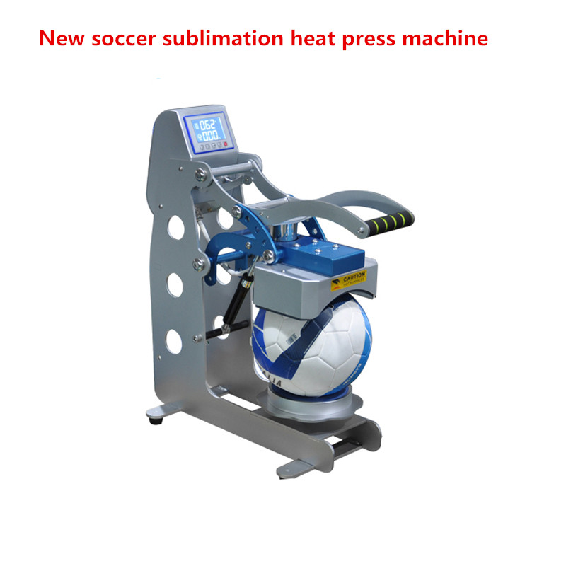 New arrival soccer sublimation heat press machine for ball/ football Logo printing heat transfer printer