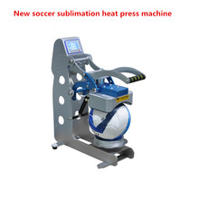 New arrival soccer sublimation heat press machine for ball football Logo printing heat transfer printer
