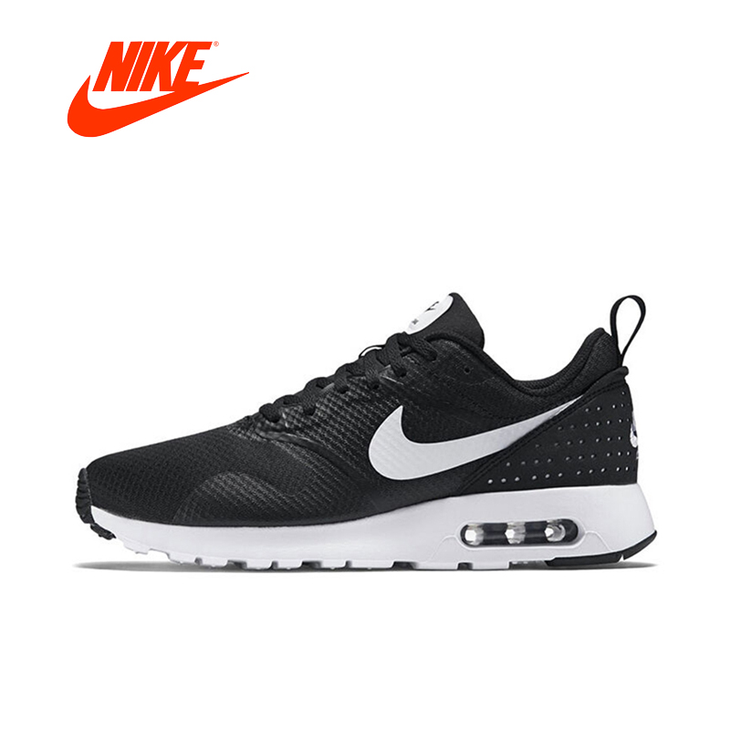 NIKE AIR MAX TAVAS Original New Arrival Authentic Men's Running Shoes Sport Outdoor Sneakers Good Quality 705149-009 кроссовки nike кроссовки nike air max tavas 705149 409