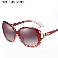 Moda Marco Grande HD Polarizado gafas de Sol de Las Mujeres Venta Caliente Marca Clubmaster Gradiente Hembra Gafas de Sol de La Vendimia Gafas De Sol Mujer
