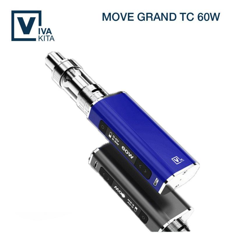 Big vapor VIVAKITA new TC 60w box mod refillable mechanical atomizer mod for sale original 200w hugo vapor hugo133 tc box mod tcr settings