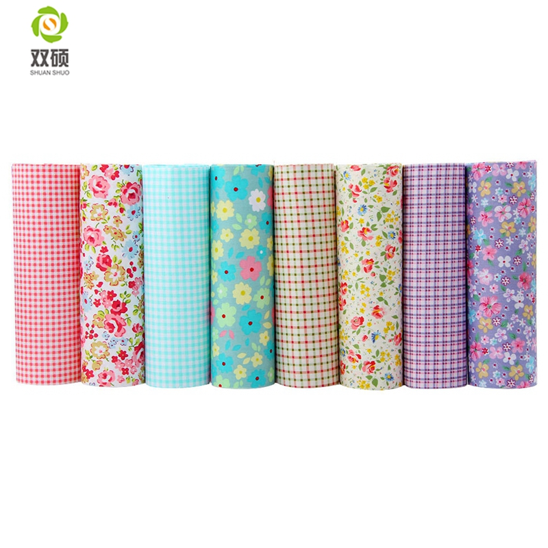 Twill cotton fabric patchwork floral tissue cloth of for Children s cotton dress fabric