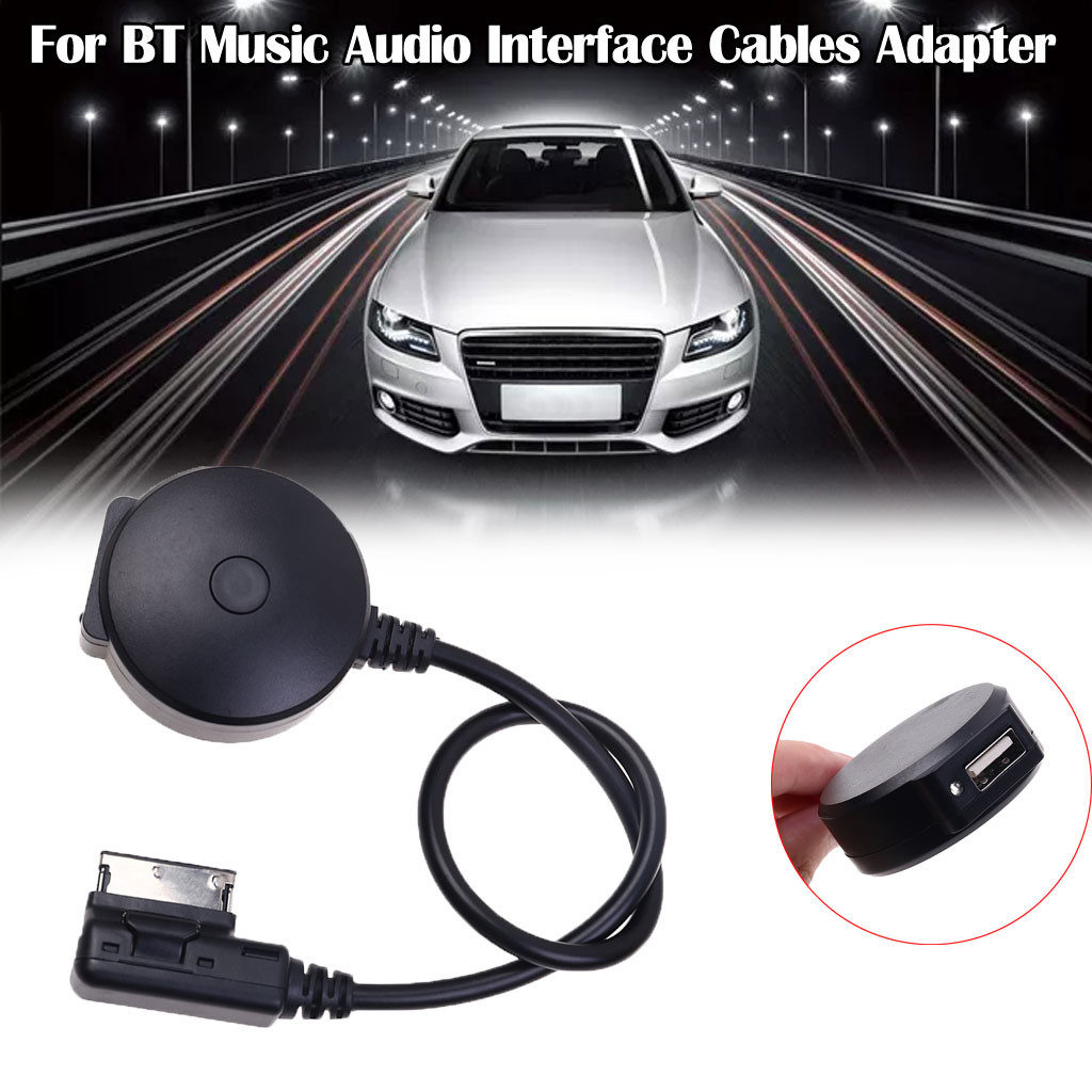 Bluetooth BT Music Audio Interface Cables Adapter For Mercedes ALL AMI Interface Support U Disk Switch Button In The Middle 8Z