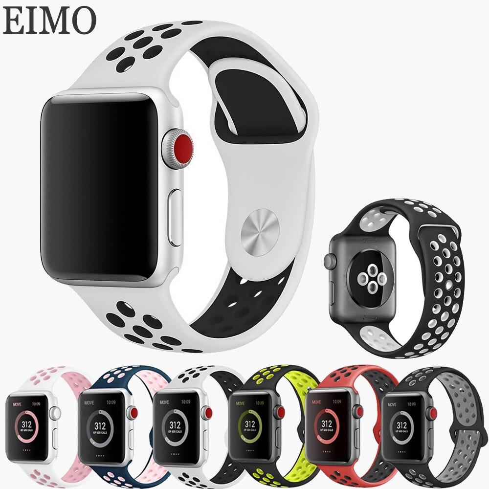0b5c3201d95 Pulseiras de Relógio esportes faixa de relógio pulseira Fecho   Metal Buckle
