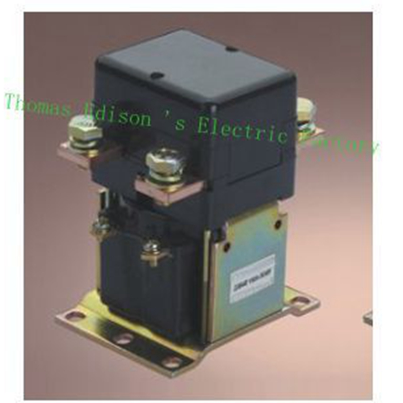 ZJQ-150 ZJQ-2XX NO (normally open) 12V 24V 36V 48V 60V 72V GE150A 150A DC Contactor for motor forklift electromobile wehicle car dc reversing contactor dc182b 537t for forklift 48v 200a zapi b4dc21