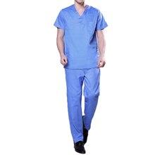 Hospital Nurse Uniform Scrubs Medical Uniform for Men and Women