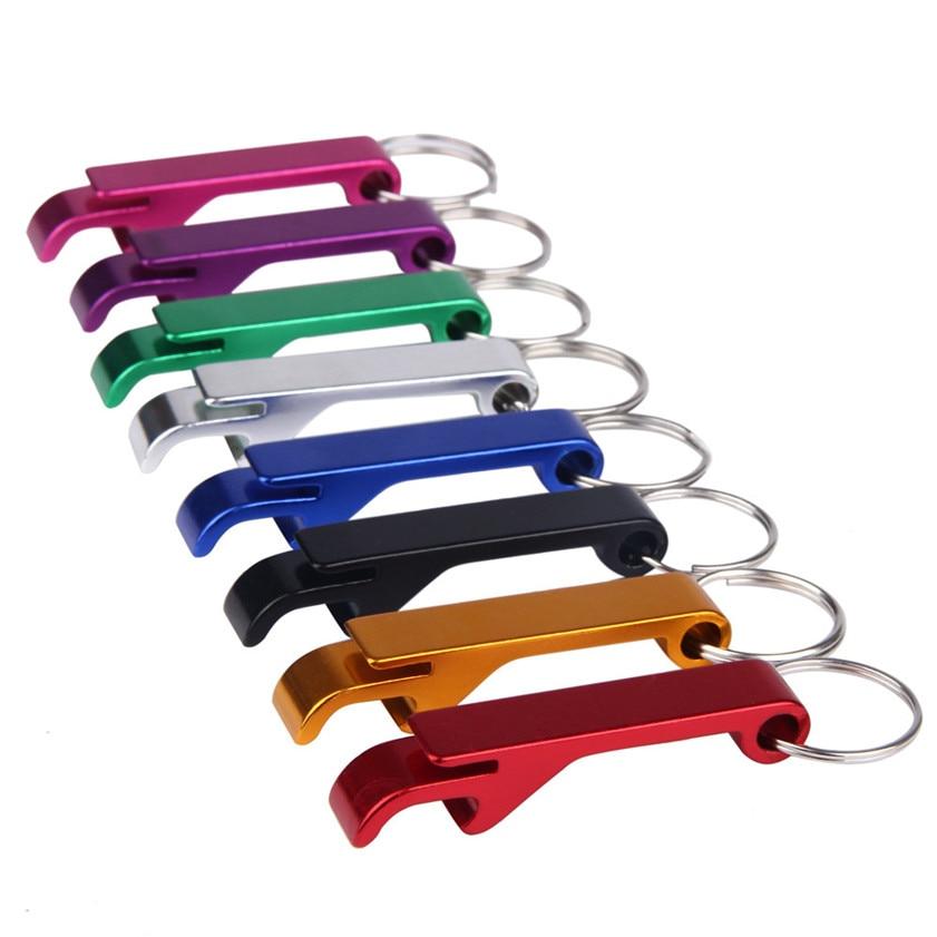 buy zero 3pcs bottle opener key ring chain keyring keychain metal beer bar tool. Black Bedroom Furniture Sets. Home Design Ideas