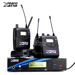 Four Bodypack Receiver Wireless In Ear Monitor System Professional Stage Monitoring For EK 2000 IEM One Transmitter in Earphone