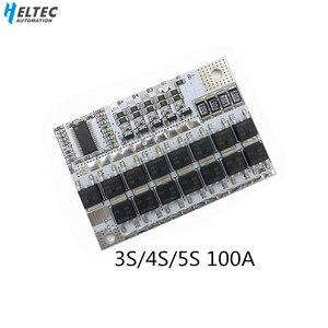 Image 1 - Плата защиты литий ионных батарей 3S/1/2 BMS 12V 16,8 V 21V 100A Li Ion LMO Ternary, литий полимерный баланс, модуль зарядки