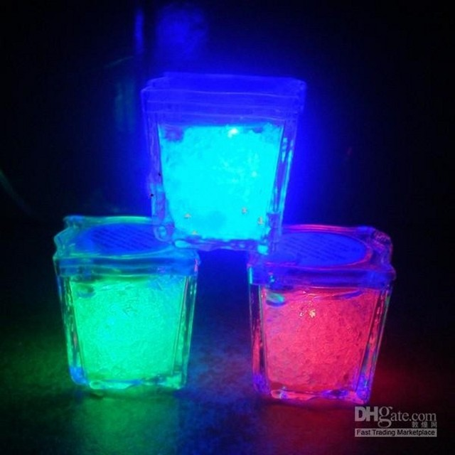 High quality 35cm press control ice cube flash led light for party high quality 35cm press control ice cube flash led light for party wedding bars christmas aloadofball Image collections