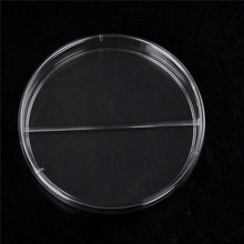 Практичная Стерильная посуда Петри с крышками для лабораторная пластина бактериальные дрожжи химический инструмент лабораторные поставки 90 мм Одноразовые 10 шт