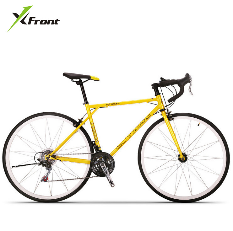 New brand Retro 27 speed racing bike 700C*49cm bike High-carbon steel frame Bend bicycle cycling shaft brake road bike  new brand 14 speed racing bike 700c 50cm bike aluminum alloy frame bend bicycle cycling disc brake road bike drop shipping