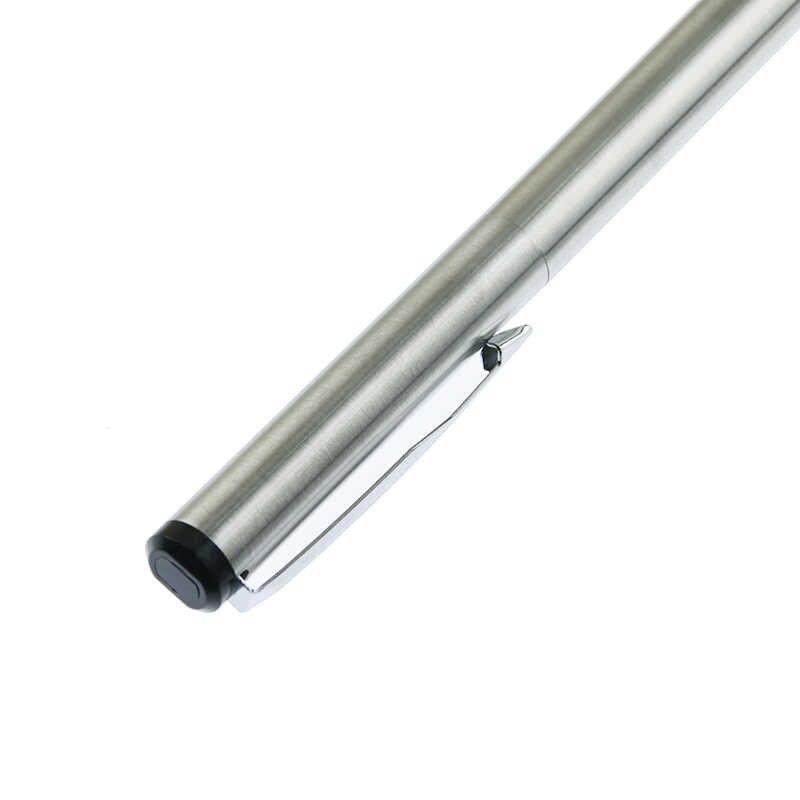 انه داو الفضة معدن ناقلات قلم حبر 0.5 مللي متر المنقار كامل معدن الجسم أقلام الأعمال هدية الكتابة الخط اللوازم المكتبية