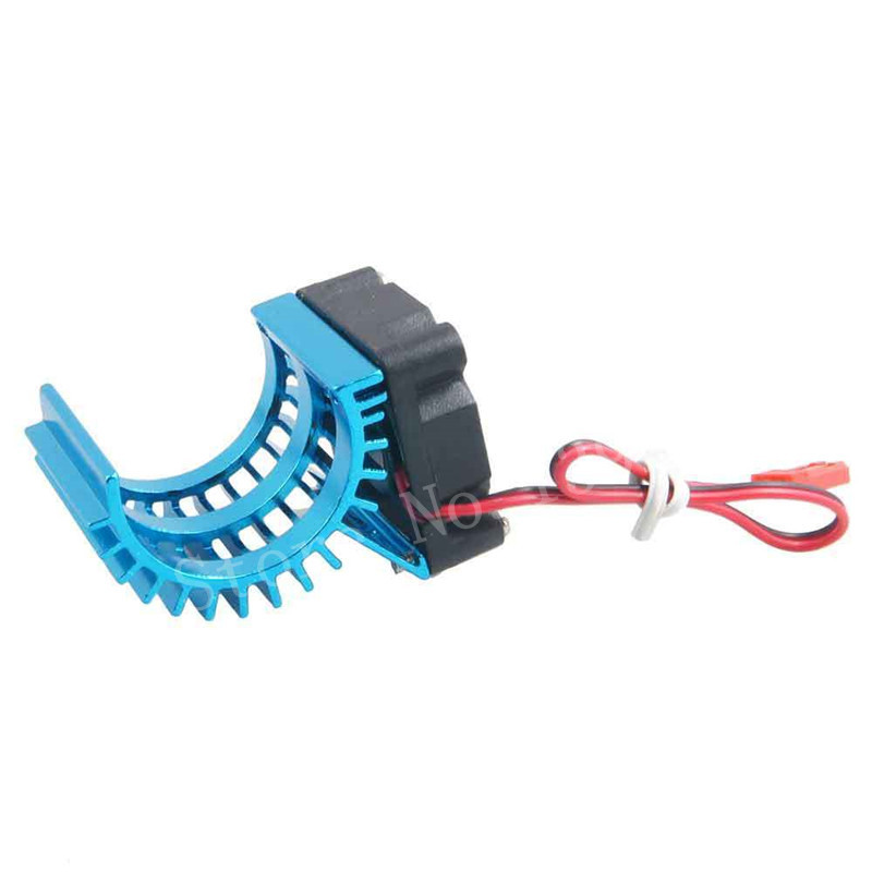 RC Car Aluminum Alloy 380 390 Motor 28006 Heat Sink Heatsink DC 5V 0.12A Brush Brushless Fan HSP RC Parts For 1/16 Scale Models replacement hsp 03001 aluminum alloy rc car chassis bottom board remote control car board for 1 10 scale rc car models