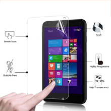 """HD LCD Anti-Scratches Display screen Protector Movie For HP Stream 7 7.zero"""" pill computer Shiny display screen protecting movies with cleansing fabric"""