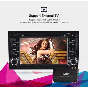 Image 3 - Автомобильный DVD радиоприемник 7 дюймов Android 2002, стерео для Audi A4 S4 2003 2004 2005 2006 2007 2008, GPS навигация, Wi Fi, видеоплеер, головное устройство