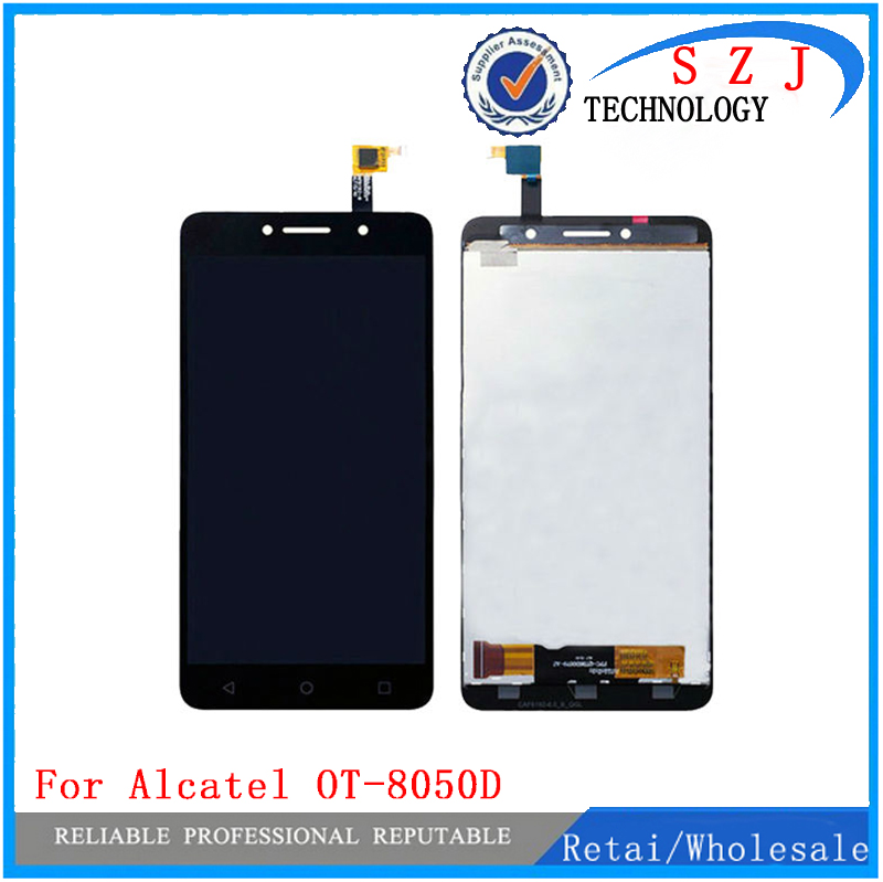 New 6 inch For Alcatel One Touch Pixi 4 OT-8050D OT8050 8050D 8050 LCD Display Touch Screen Digitizer Assembly Replacement Parts смартфон alcatel one touch pixi 4 6 8050d black