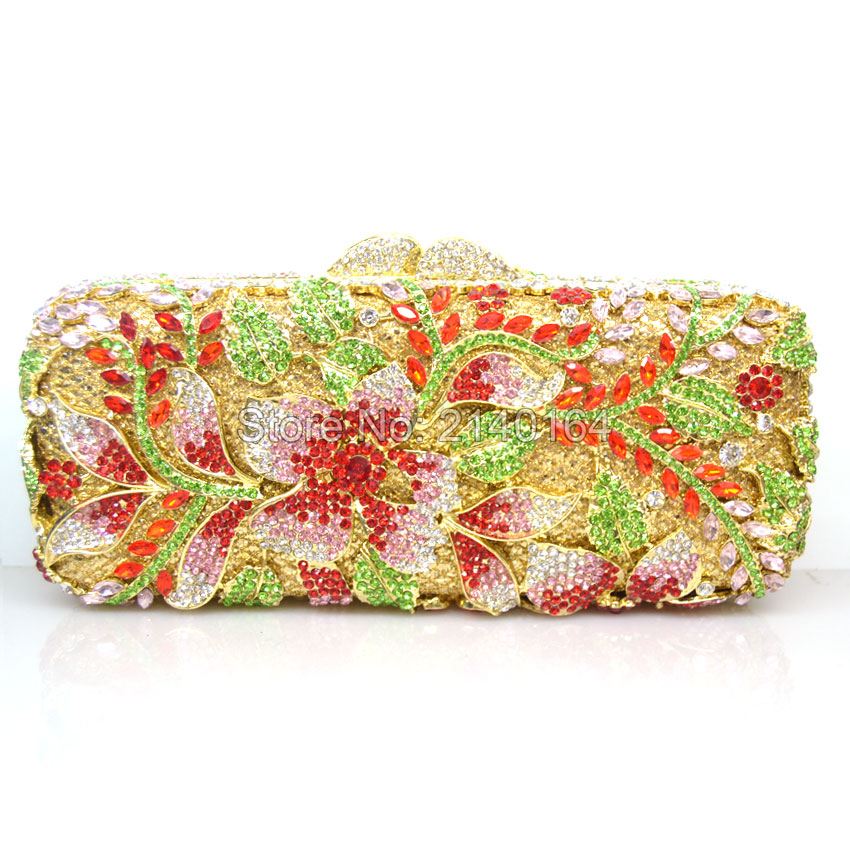 Diamante Crystal Rhinestone Evening Clutch Green vine Crystal Cocktail hand bag red leaf diamond Dinner Bag Christmas gift 88363 danly the railroad in american art – representations of technological change