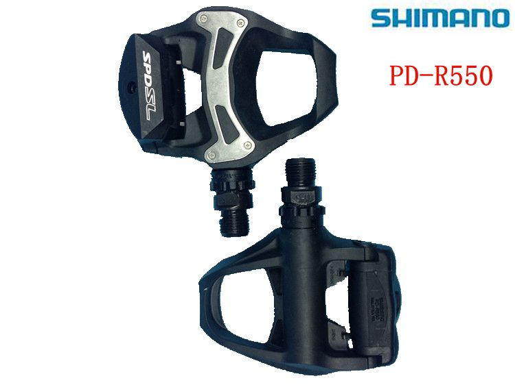 SHIMANO PD-R550 105 Road bicycle self-locking pedals bike bicycle pedal bike foot road bike parts cycling cleats free shipping shimano pd r550 spd sl clipless road pedals cycling road self locking pedal