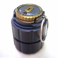 Titanium pot of portable waterproof capsule bottle bottle medicine bottle box storage tanks outdoor camping tool