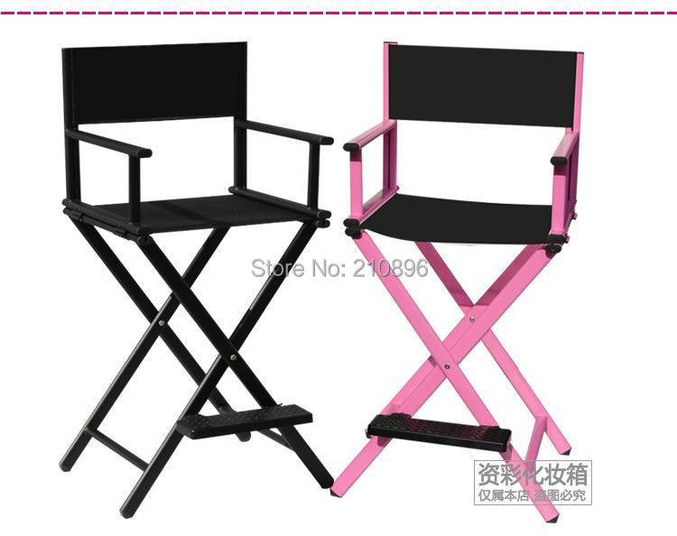 Delicieux Free Shipping To USA Hairdressing Salon Chairs Makeup Artist Chair Aluminum  Beach Chair Black And Silver In Cosmetic Bags U0026 Cases From Luggage U0026 Bags  On ...