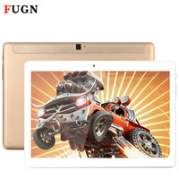 FUGN 10 Inch Android Tablets 4G LTE Phone Call Tablet PC With GPS Wifi Keyboard 1920