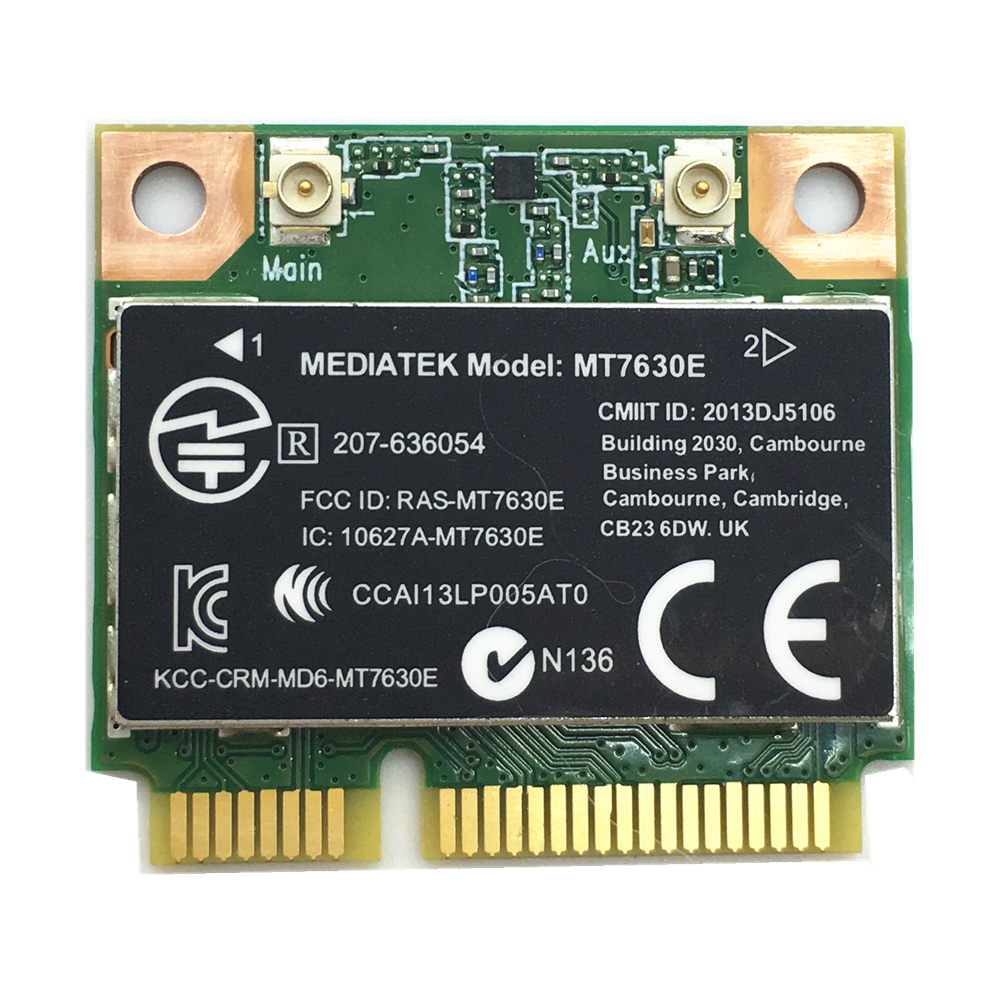 MT7630E Wireless 150Mbps 802.11BGN Network Mini PCI-E Adapter SPS:710418-001 Laptop Wifi Card for Pavilion m4 m6 envy14 16