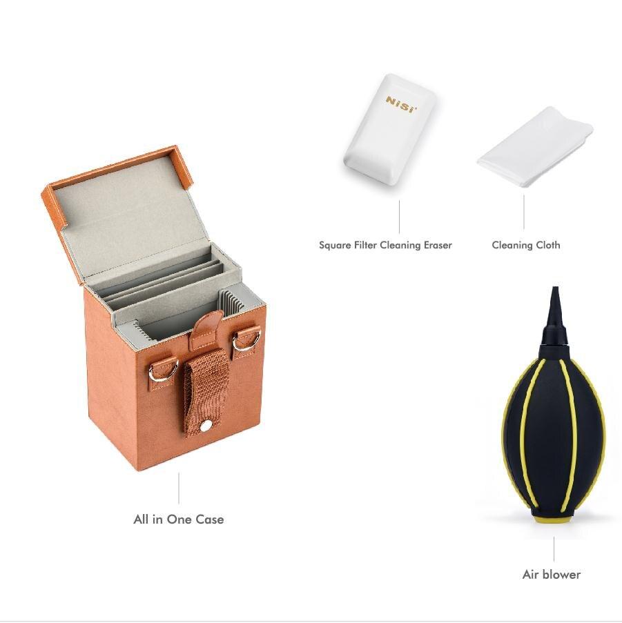 Nisi 100mm Professional Filters Kit Iii V5 Pro 100100mm Nd8 64 1000 Aluminium Filter Holder