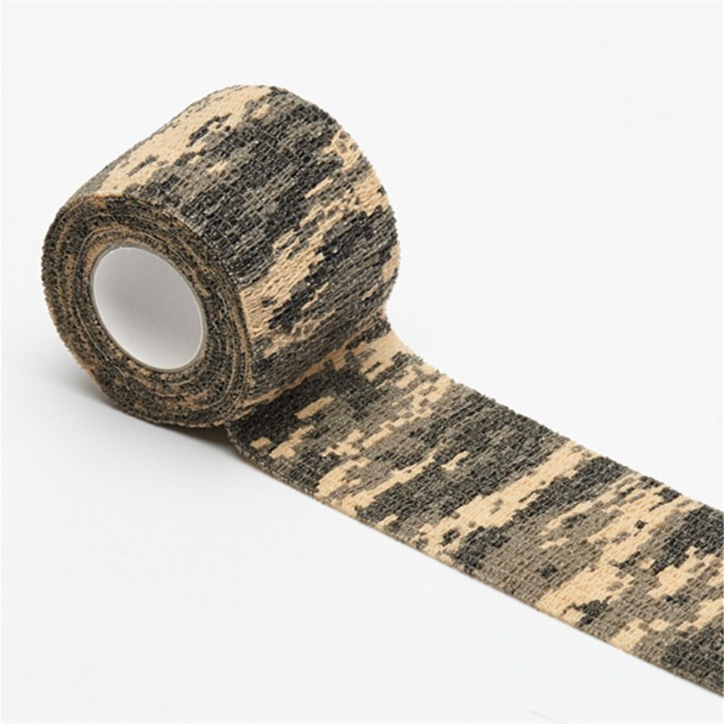 2.5cm-15cm Camping Camo Outdoor Hunting Shooting Tool Camouflage Stealth Tape Waterproof Wrap Durable Army
