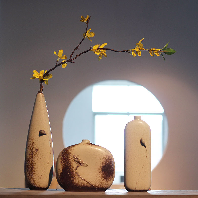 Ink Ceramic Vases Home Decor Flower Vase Flower Vase Designs