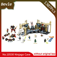 Bevle Store Bela 10530 1307pcs Friends Series Chaos Warrior Cave Model Building Blocks Bricks For Children Toys LEPIN 70596