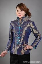 Chinese Traditional Jacket Women's Silk Satin Coat  Size: M to 3XL цена
