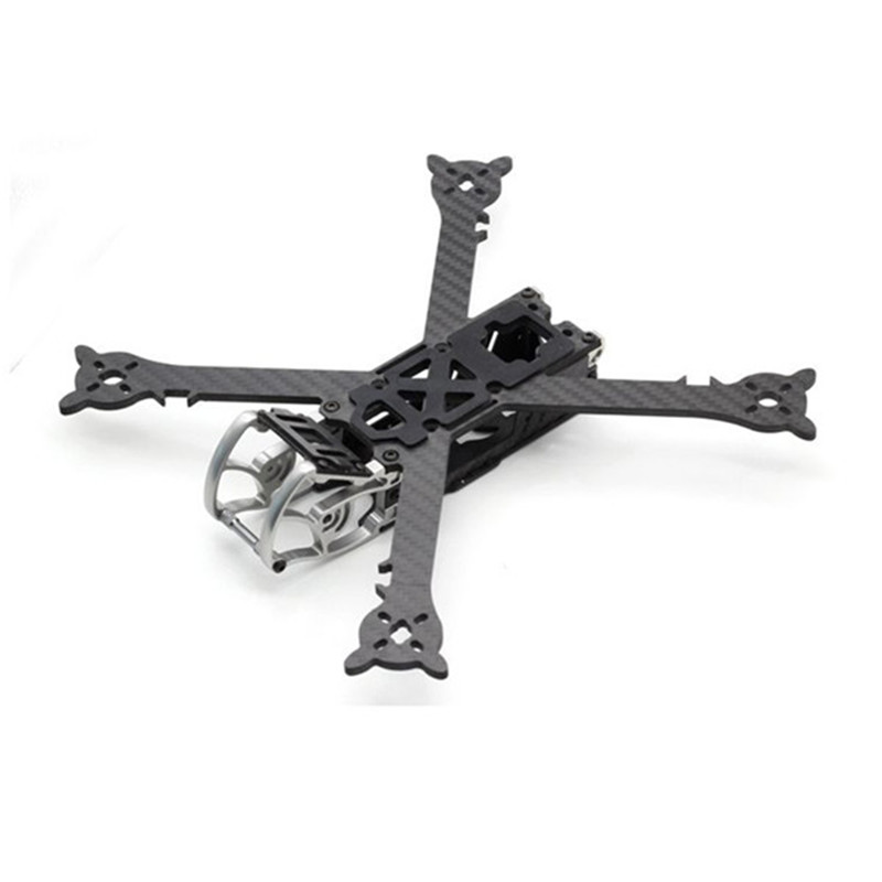 HSKRC SZ245 245mm Wheelbase 4mm Arm Carbon Fiber X Type FPV Racing Frame Kit for RC