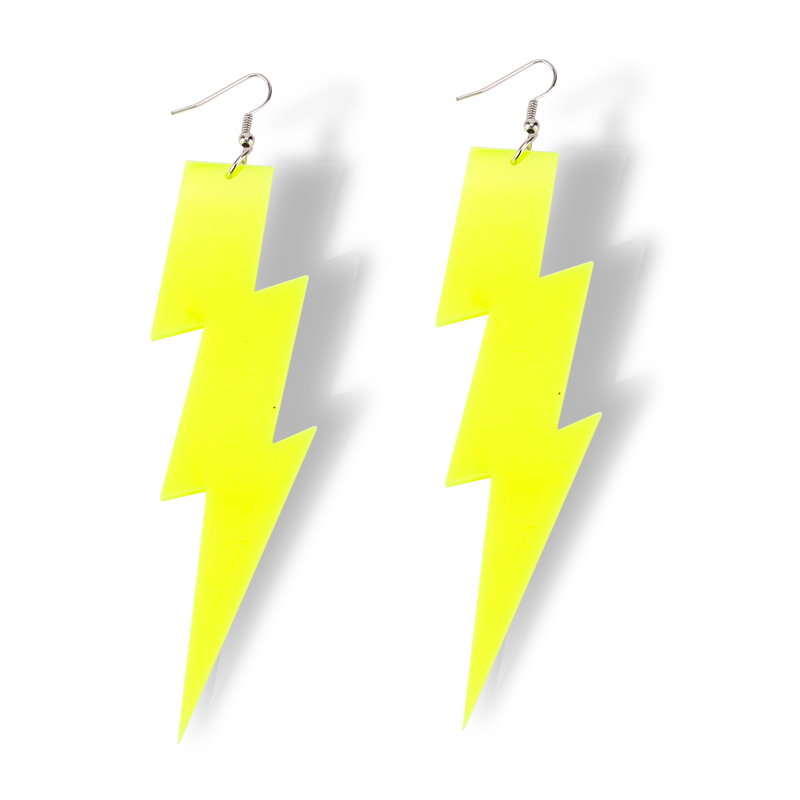 4-Color-New-Arrival-Hiphop-Rock-Lightning-Drop-Earrings-For-Women-Jewelry-Night-Club-Punk-Female (2)