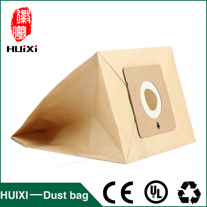 10pcs Paper change bags and composite paper dust bags with high efficiency of vacuum cleaner for RO1717 RO1733 RO1751 VD-2314etc dust bags and dust bucket of vacuum cleaner parts with high efficiency for vt02w 09b t3 l201b etc