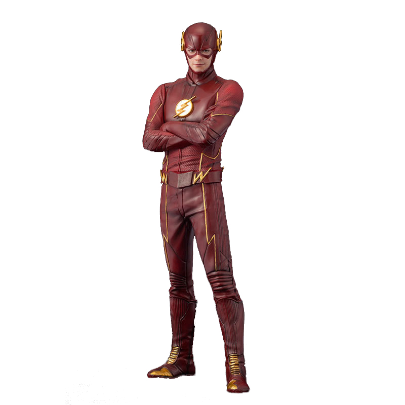 Marvel Super Hero The Flash Action Figures Justice League Doll Toys 17cm