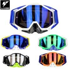 2017 Новый Мотокросс Очки Мотоцикл очки 100% оригинал Racecraft LY100 Новый Óculos Gafas