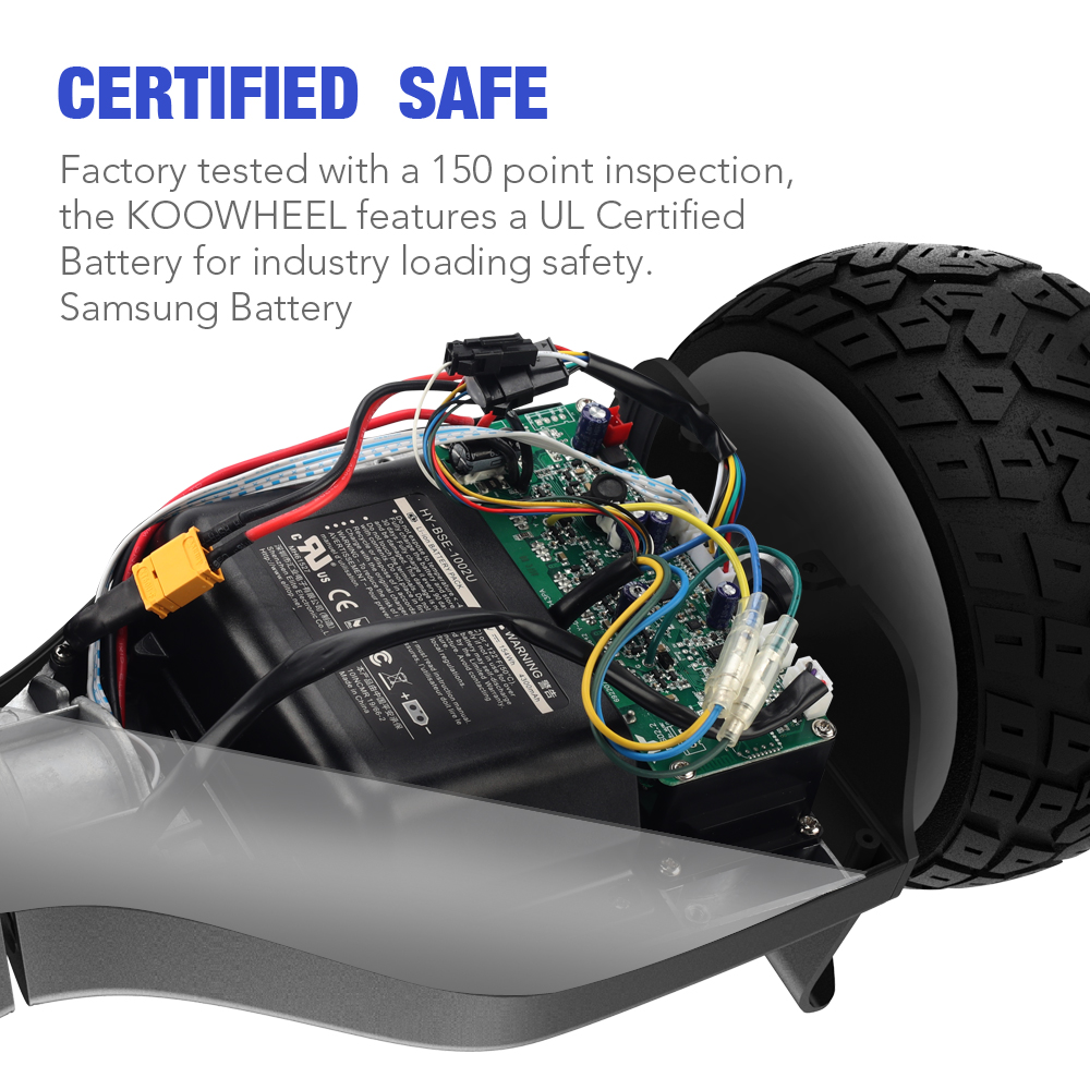 Koowheel K7 Hoverboard All-Terrain 8.5 Self Balance Scooters Two Wheel Electric Scooter 500w2 Over Tough Road Condition (19)
